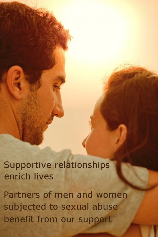 Supporting partners after sexual abuse